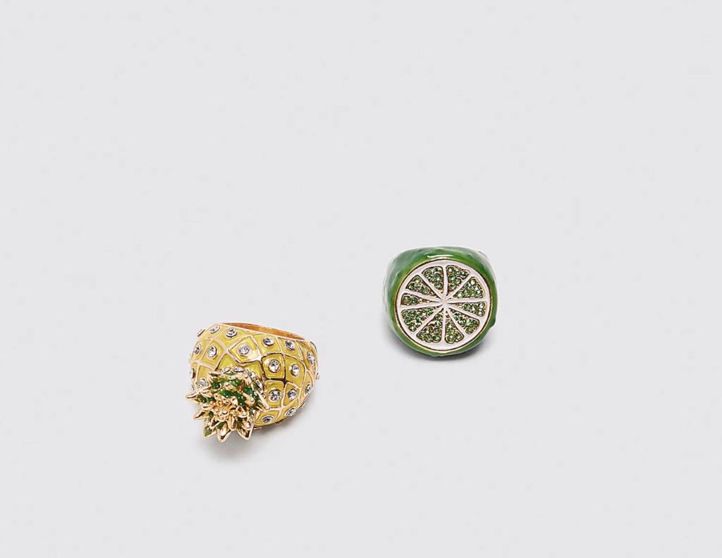 Zara, Rings, £12.99