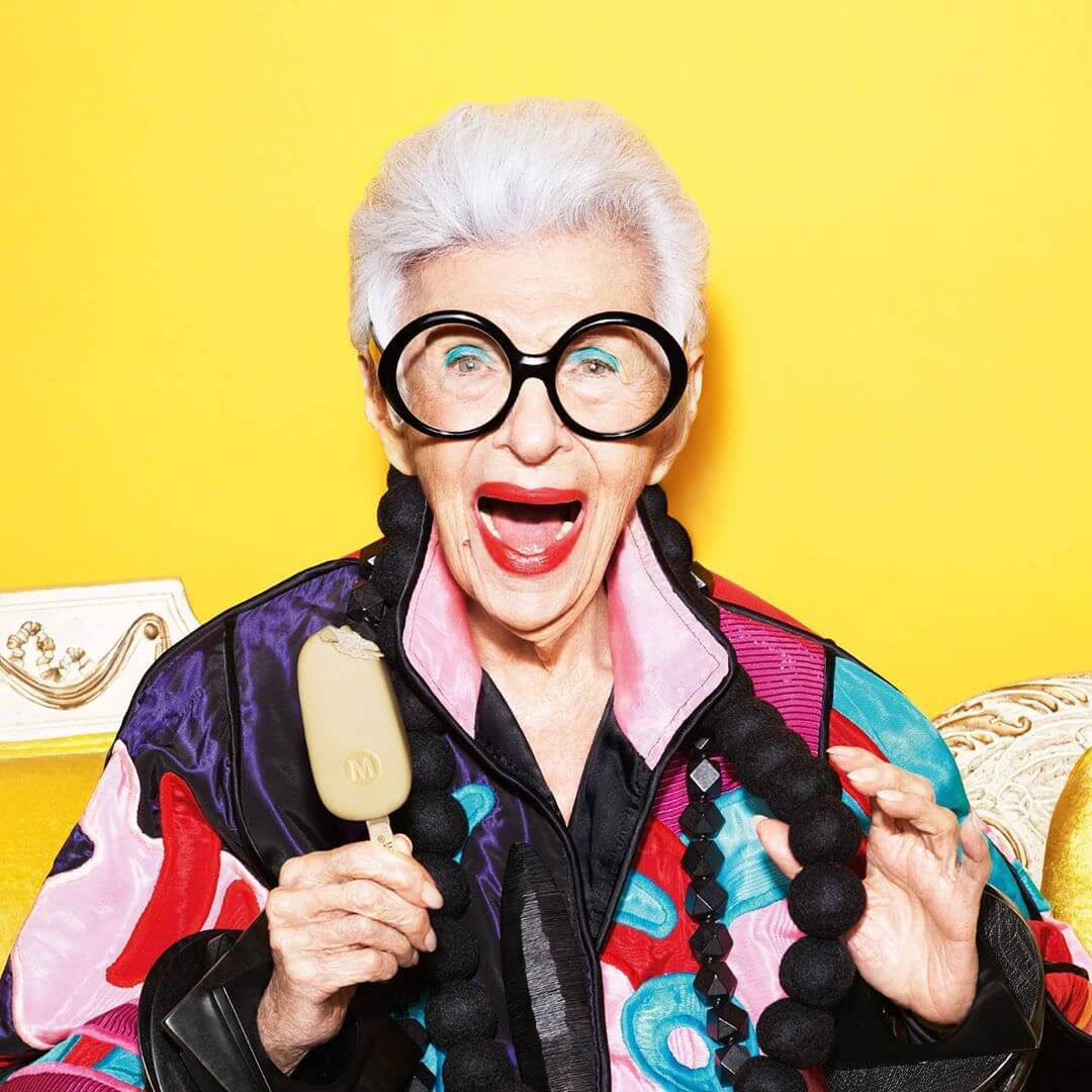 10 style lessons we can learn from Iris Apfel
