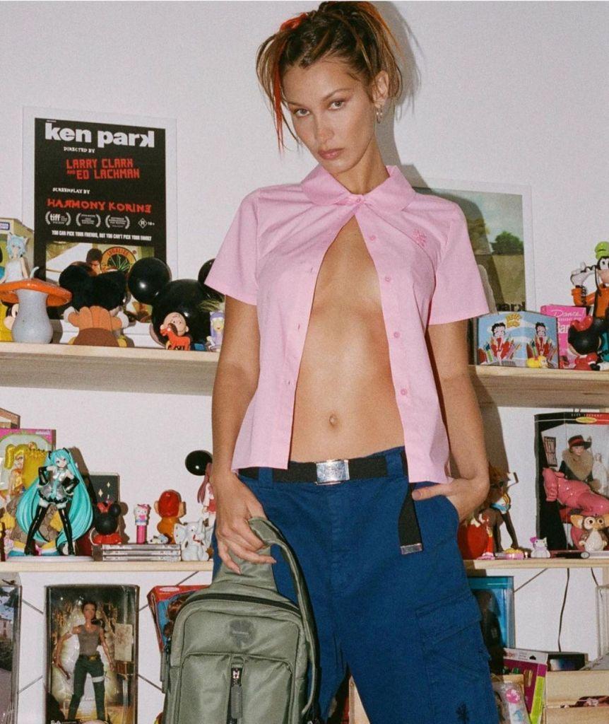 Bella Hadid in Marc Jacobs
