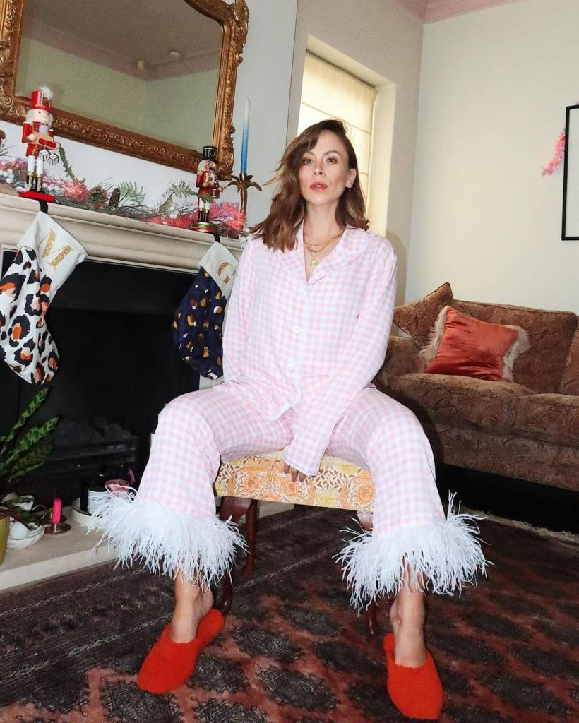Influencer Megan Ellaby in Daily Sleeper