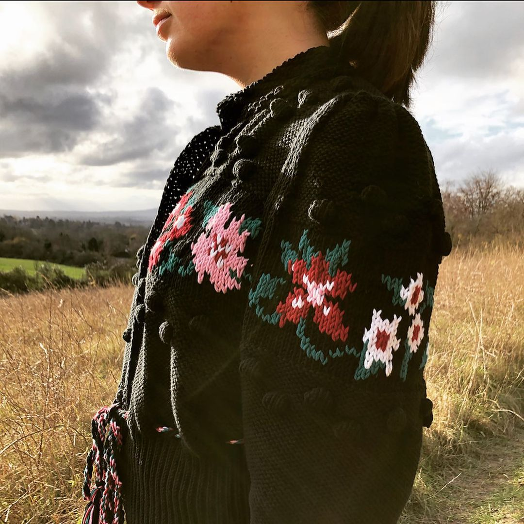 7 embroidered cardigans we're obsessed with