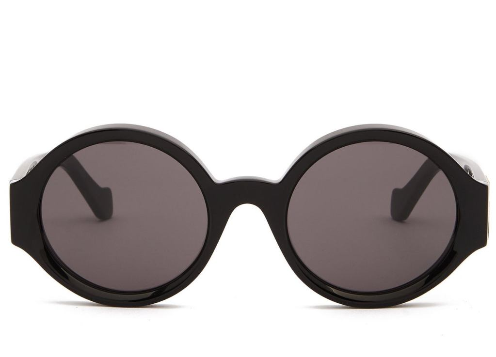 Loewe Story Anagram-logo round acetate sunglasses