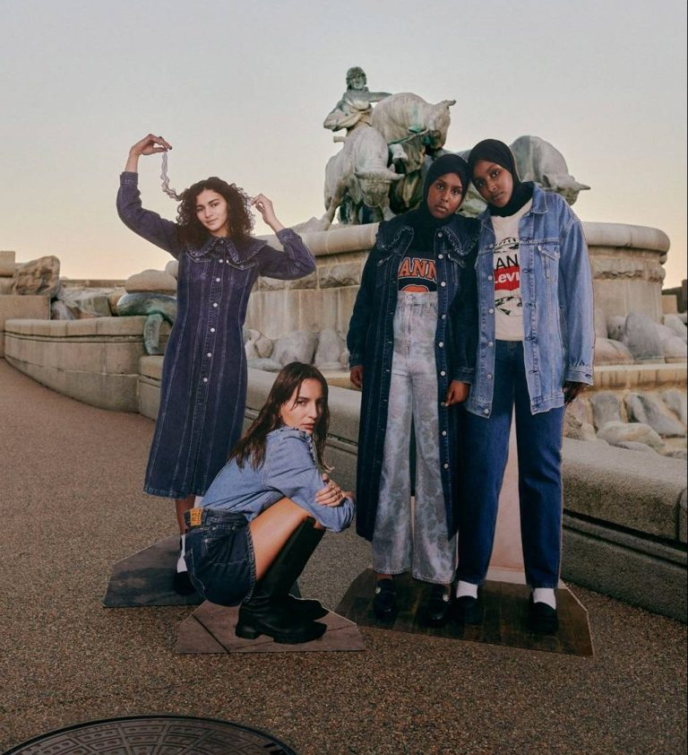 Ganni x Levi's is back for another sustainable denim collection