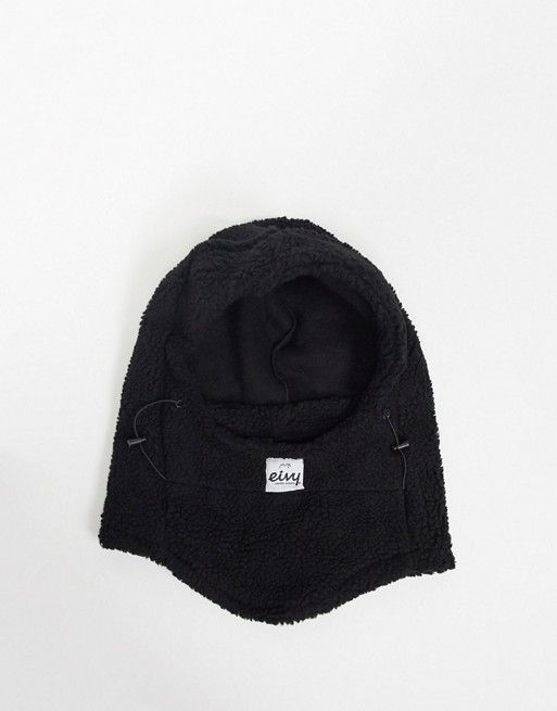Eivy Mandy sherpa balaclava in black
