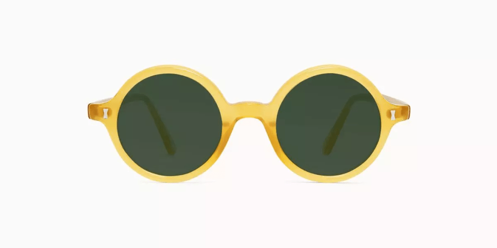 percy yellow sunglasses cubbitts