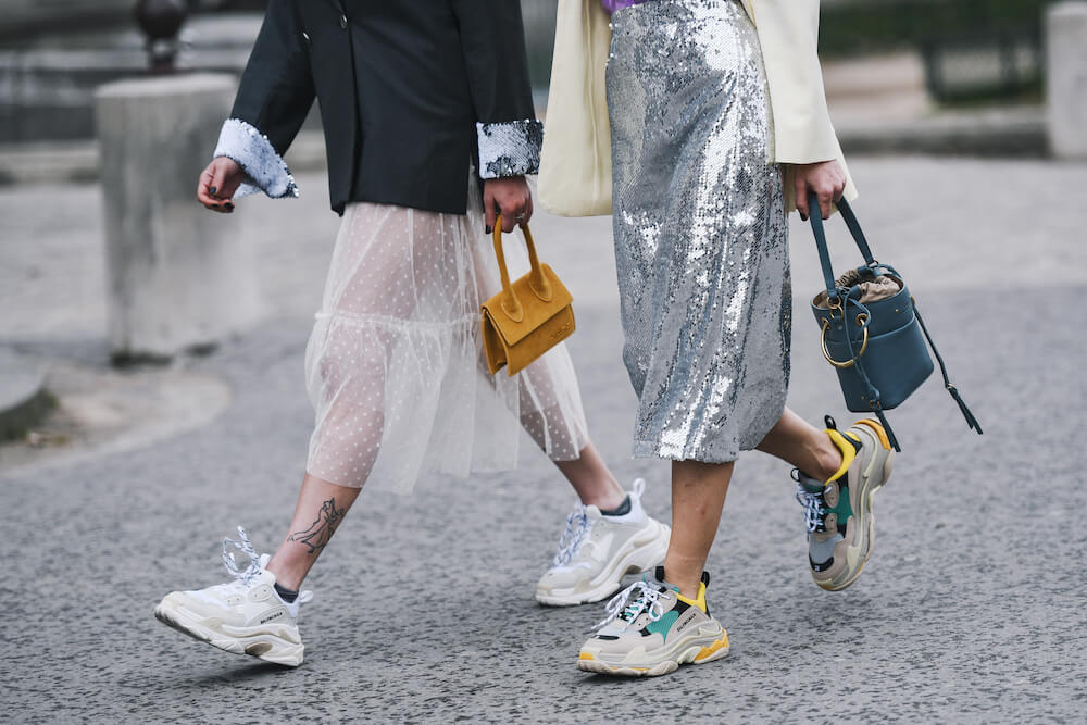 Are chunky trainers still in style in 2021?
