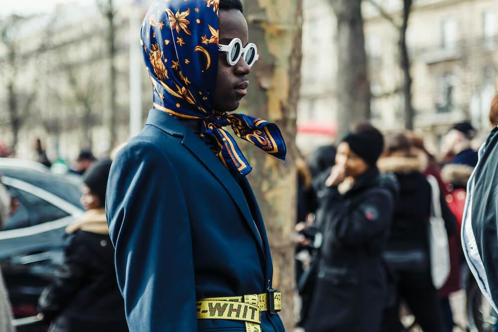 What is a babushka scarf?