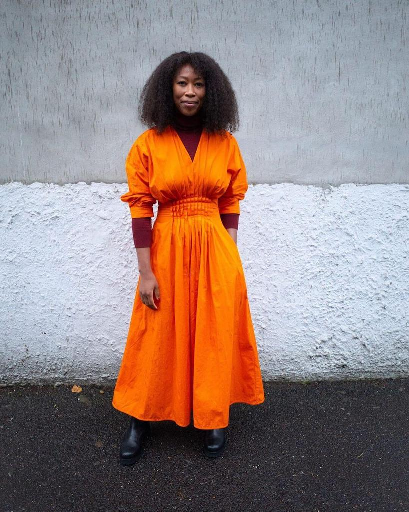 How to wear neon in 2021: Thandi Maq