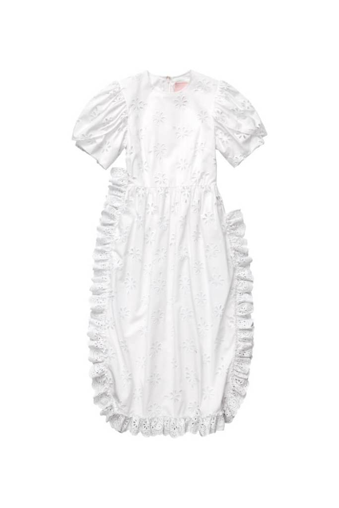 Broderie anglaise dress Simone Rocha x H&M - buy now £119.99