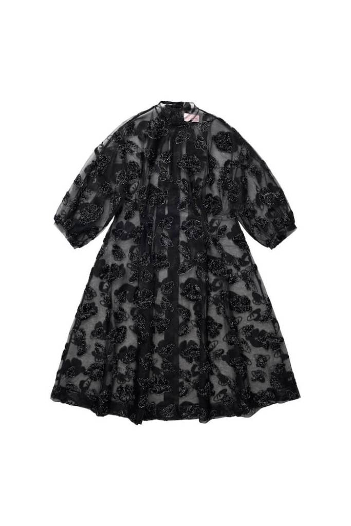 Tinsel-patterned Dress, £139.99,Simone Rocha x H&M