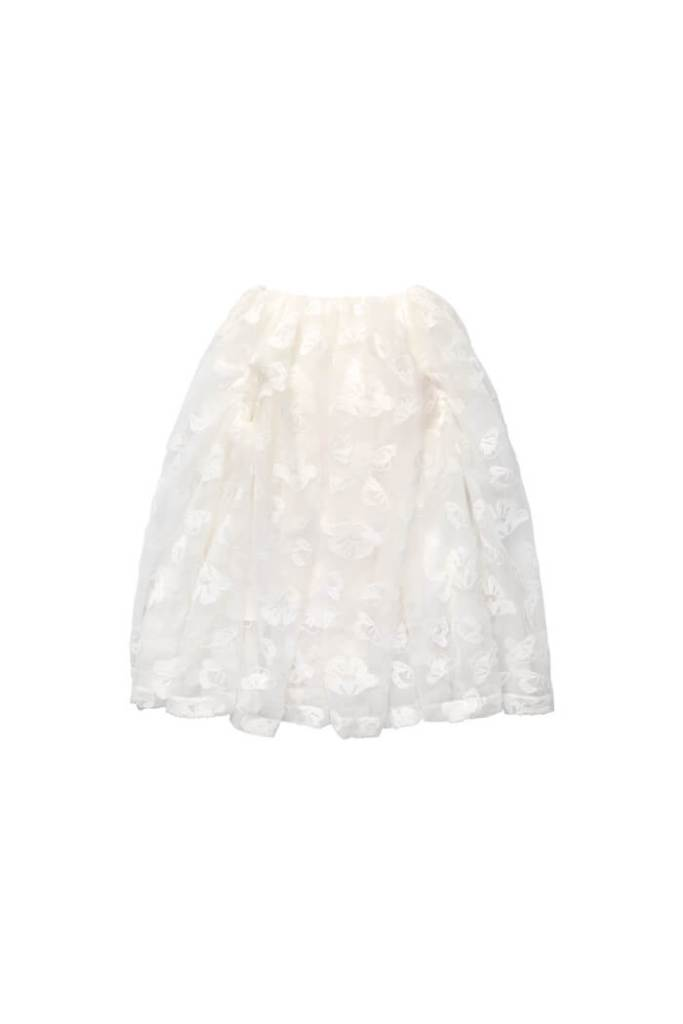 Tinsel-embroidered puff skirt £149.99 simone rocha x h&m