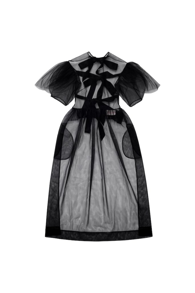 Satin-tie dress Simone Rocha x H&M £69.99