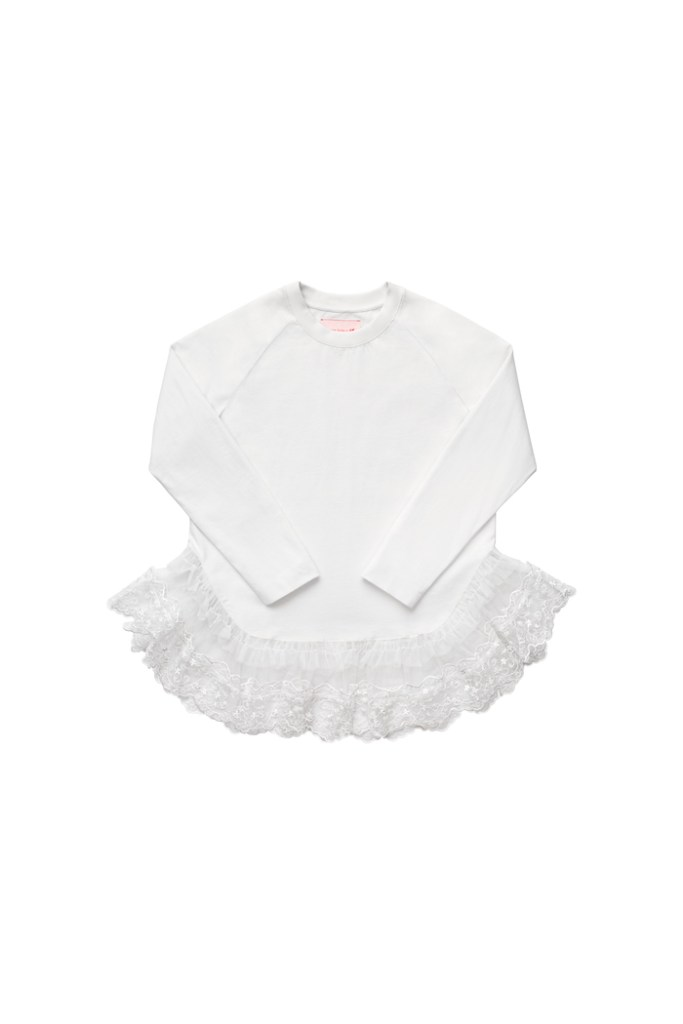 Lace-decorated top £39.99