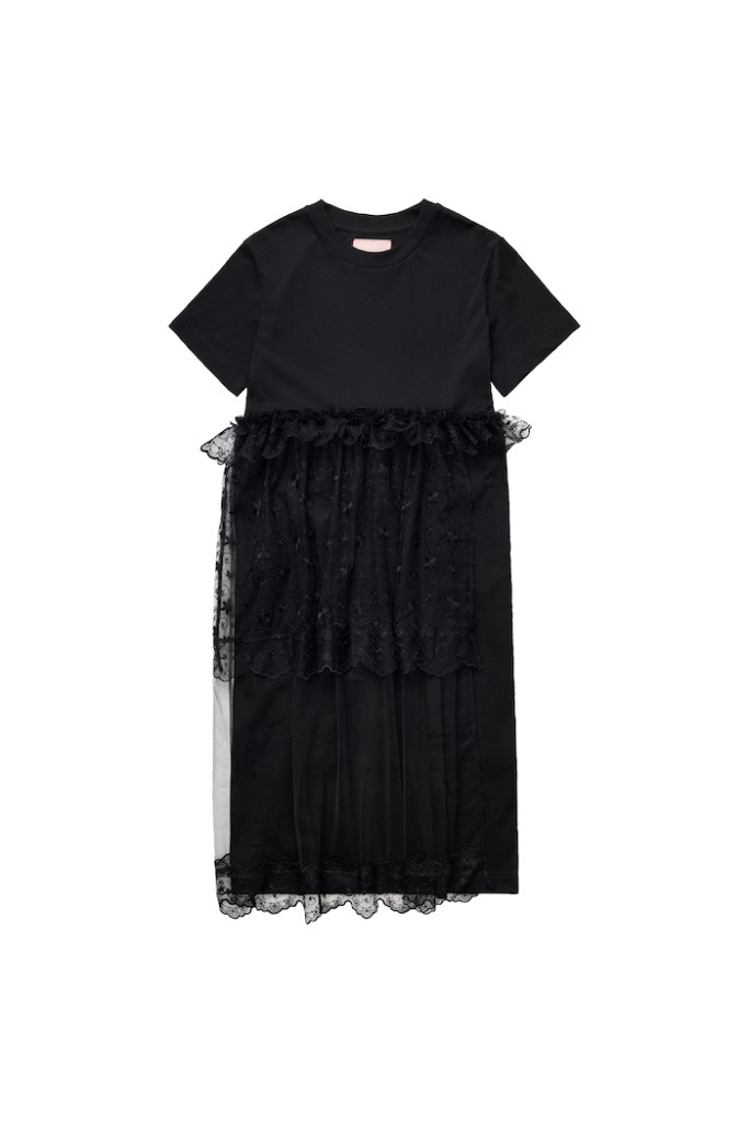 Tulle-detail T-shirt dress £69.99