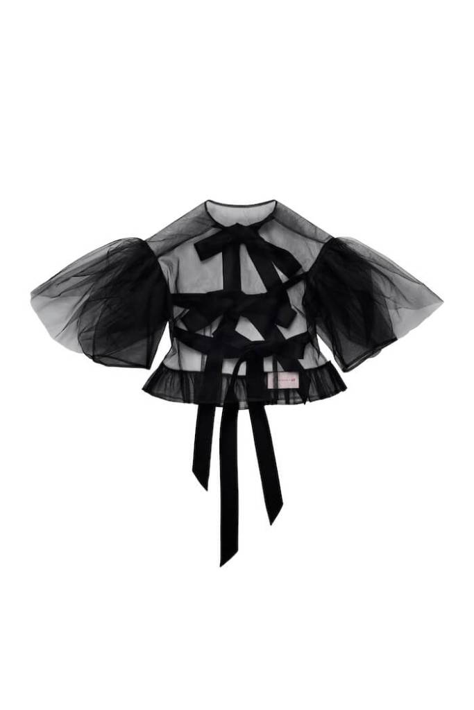 Puff-sleeved Tulle Top, £39.99, Simone Rocha x H&M