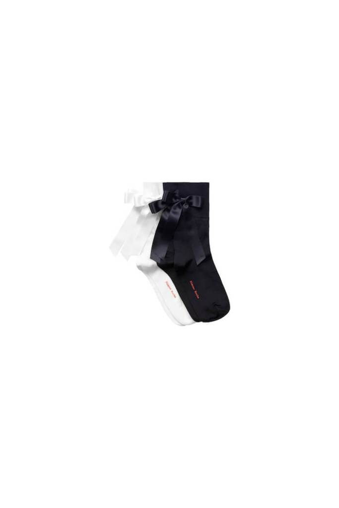 2-pack bow-detail socks £19.99 simone rocha x h&m