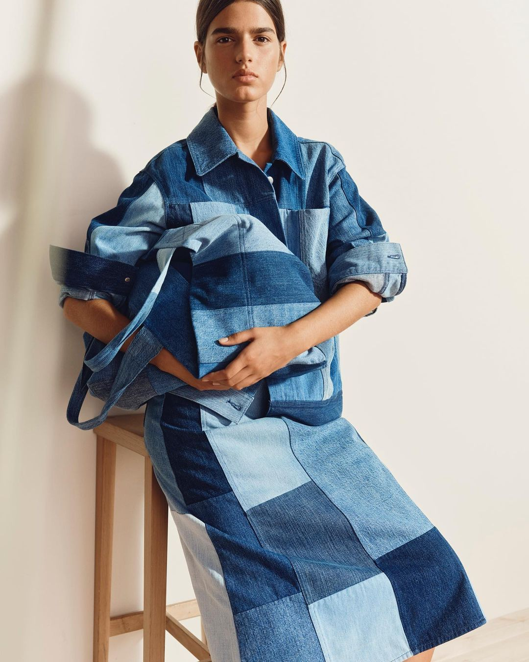 Here's your first look at Arket's sustainable Patchwork Denim collection