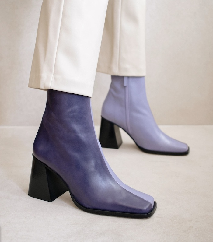 South Bicolor Lilac boots alohas