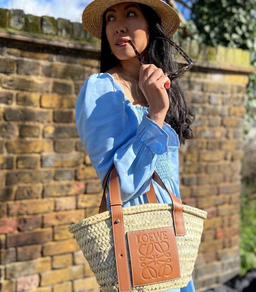 7 basket bags inspired by Loewe's raffia tote