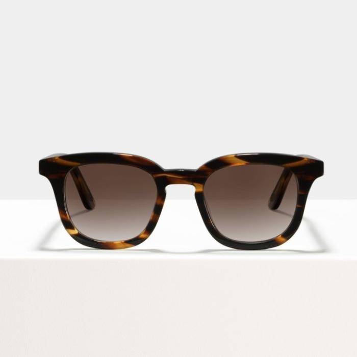 Ace & Tate Bobby Large Tigerwood Sunglasses