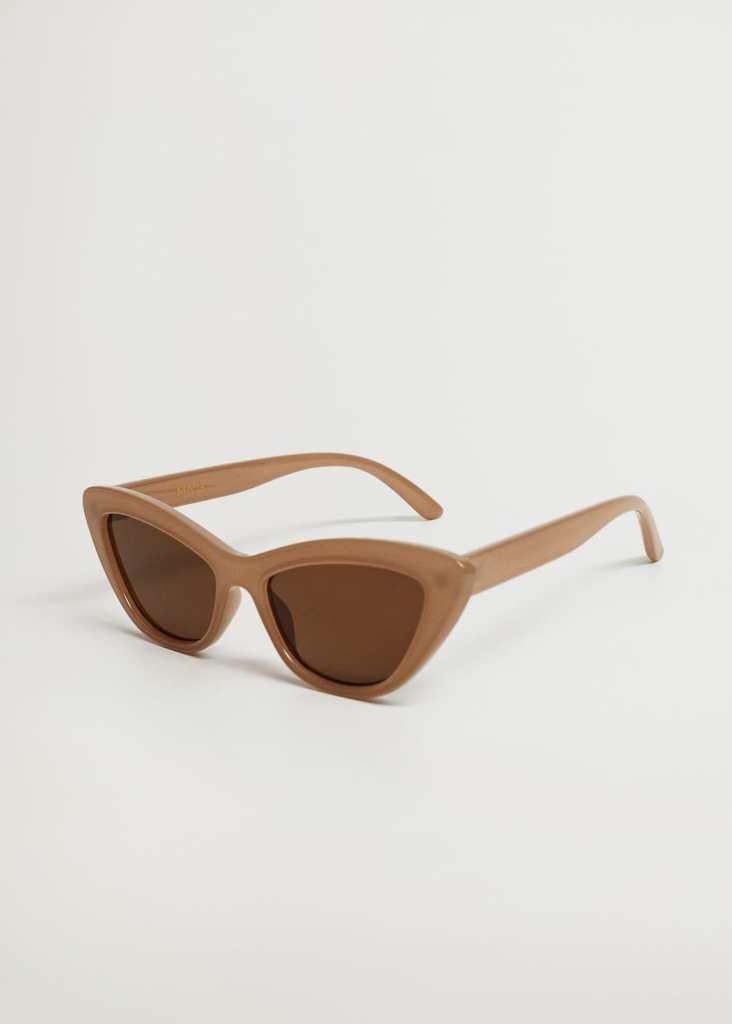 sunglasses for round face 2021- Mango Cat-eye Sunglasses
