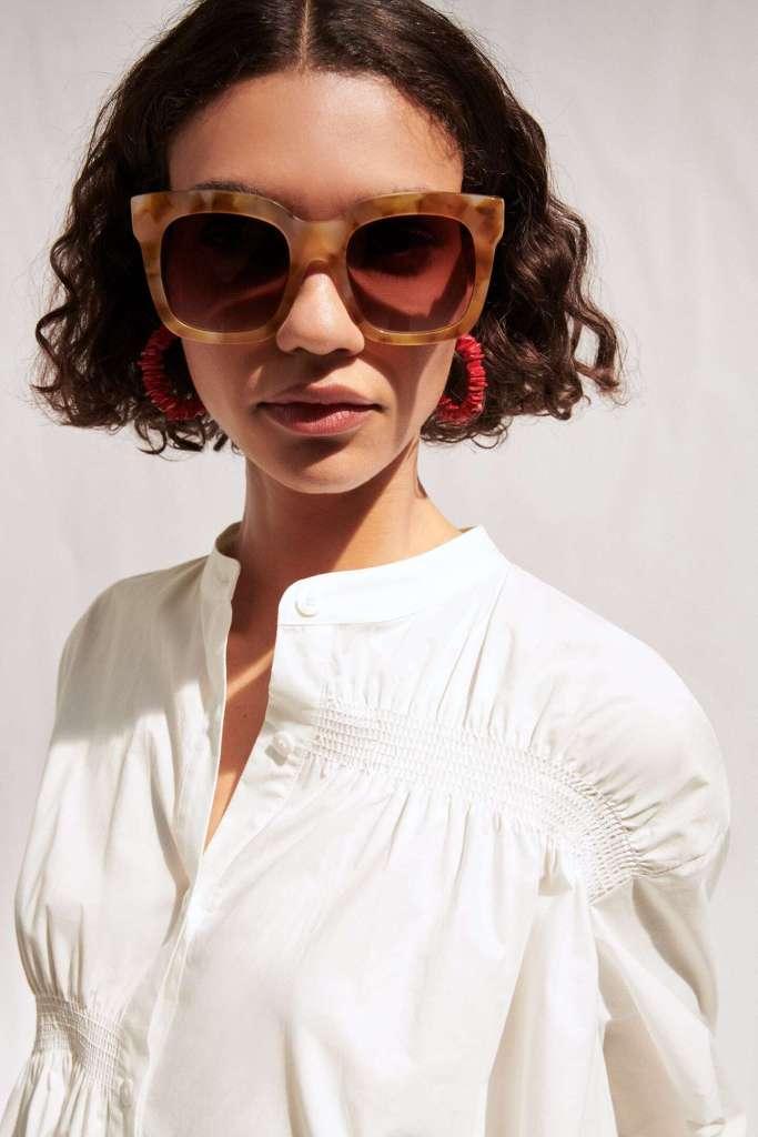 sunglasses for round face 2021 - Square Acetate Sunglasses